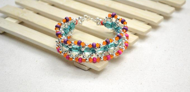 Make a Boho Cuff Bracelet by LC Pandahall