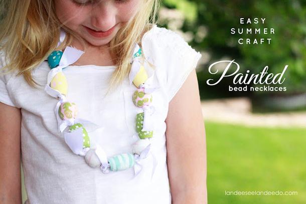kids+craft+necklace+tutorial