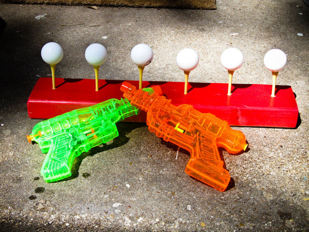 water guns and ping pong balls buy planet of the apels