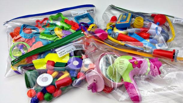 Document Zipper Bags via mums make lists