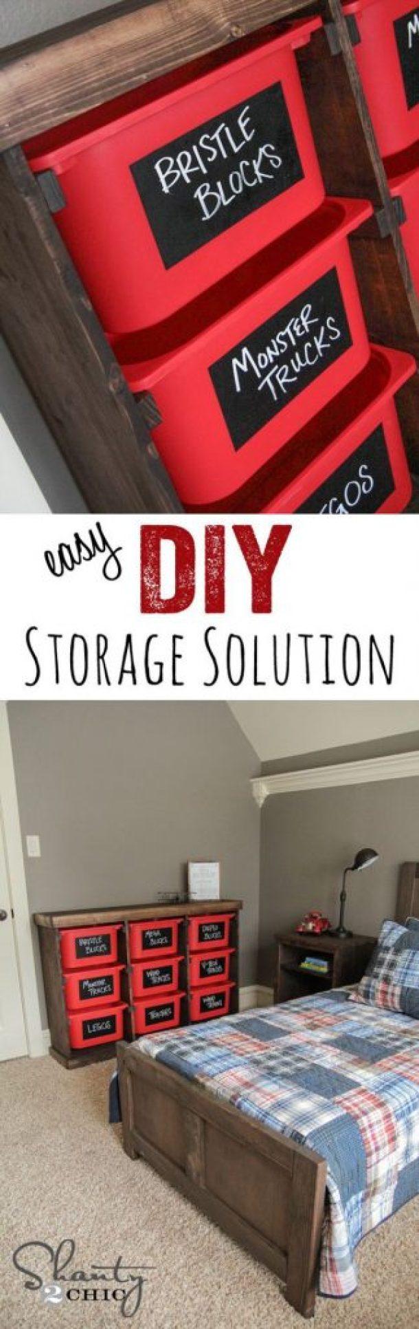 Ikea Storage hack Shanty2Chic