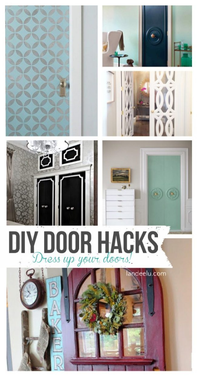 DIY Interior Door Hacks | landeelu.com