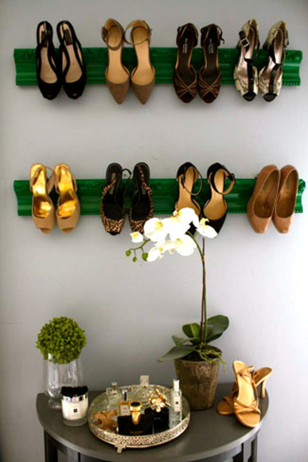Picture Frame repurposed Shoe Display Jenna McArthur