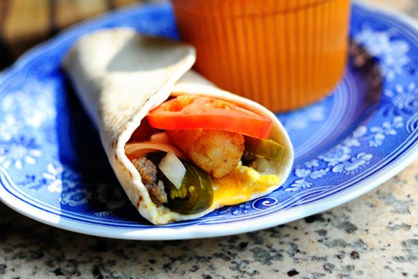 super sonic breakfast burrito