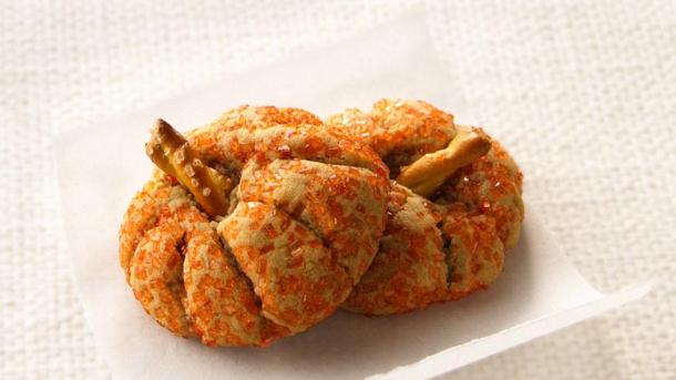 Peanut Butter Pumpkin Cookies by pillsbury