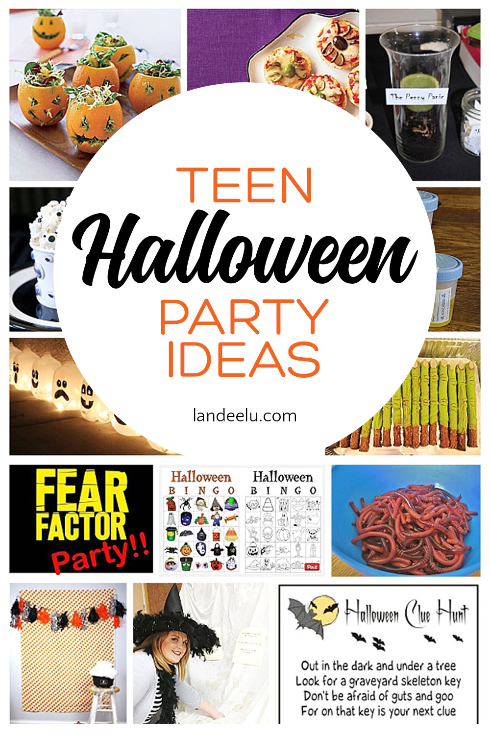 halloween party games for teens