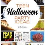 Put on the best Halloween party for your teen or tween! #halloweenparty #halloween #halloweenideas #teenpartyideas