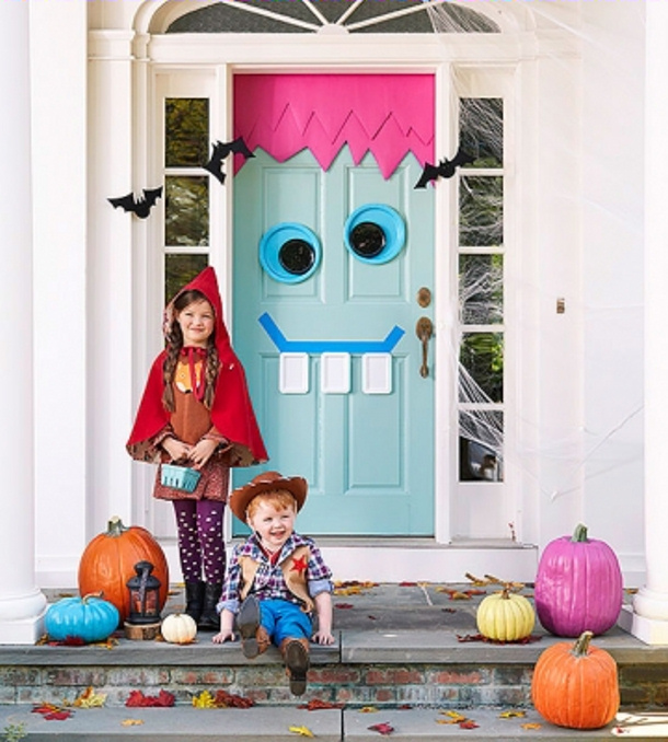 Funky Frank Monster Door via Parents