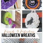 Fresh & Fabulous Halloween Wreath Ideas | landeelu.com So many fun wreath ideas for Halloween!