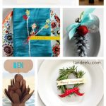 Holiday DIY Placecard Ideas | landeelu.com So many creative and pretty placecards for your holiday dinner this year!