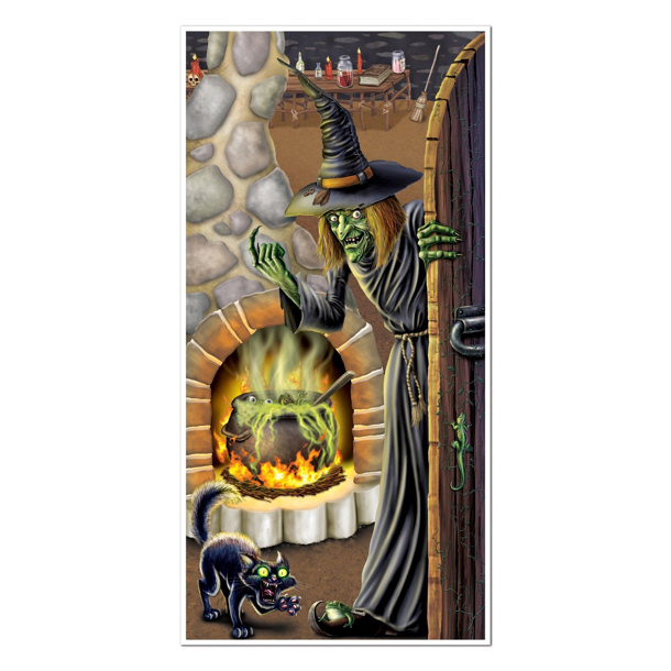 Witchs Brew Door Cover via Amazon