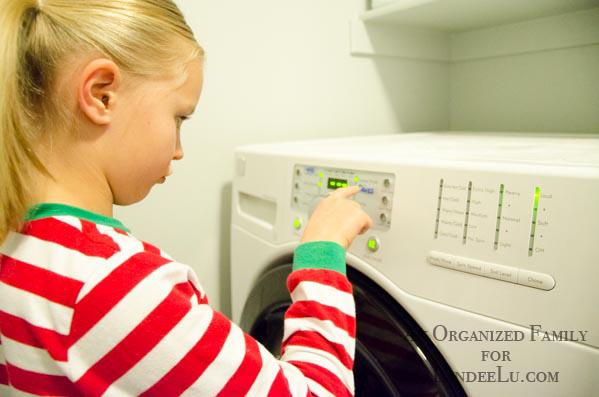 Teaching Kids to do their own laundry