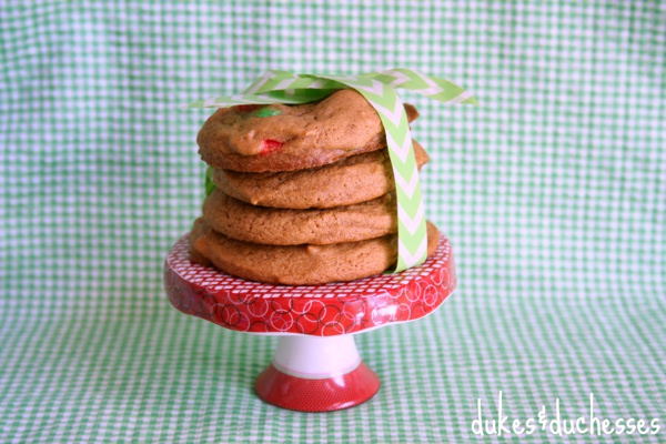 Double Gingerbread Cookies Dukes & Duchesses