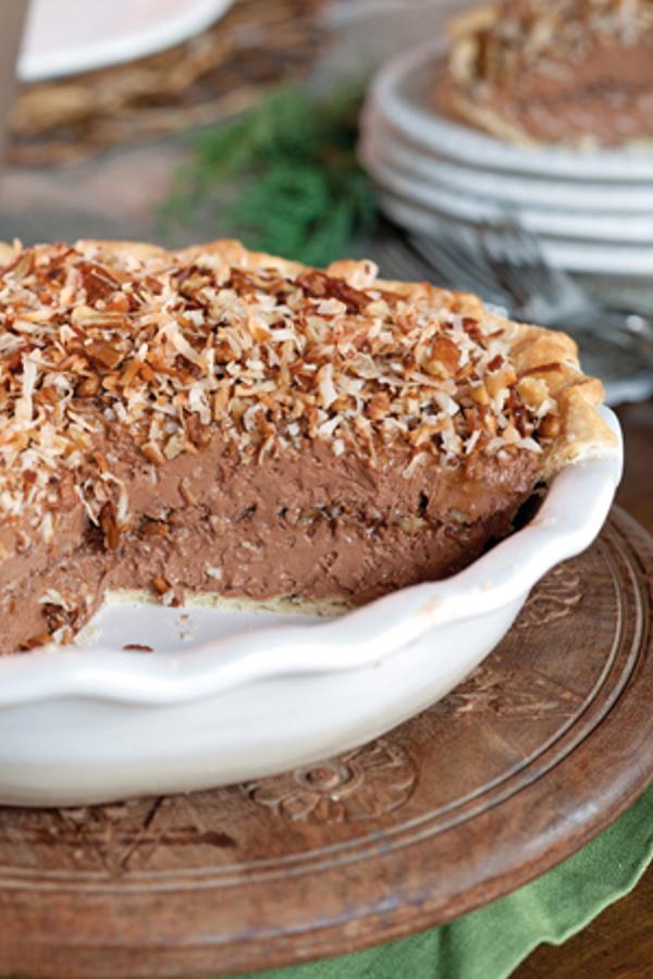 Frozen-German-Chocolate-Pie the cottage journal