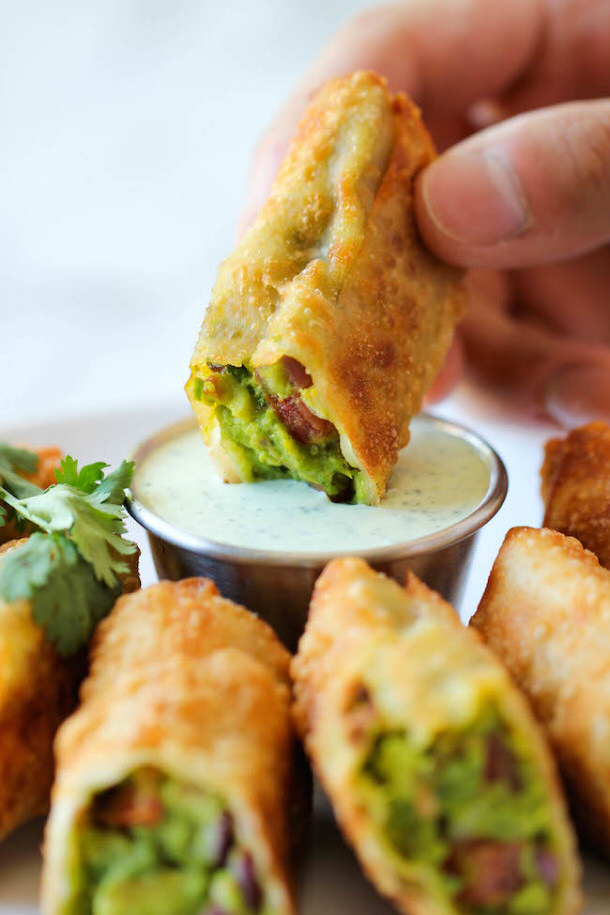 Cheesecake Factory Avocado Egg Rolls damn delicious