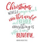 Beautiful Christmas Printable | landeelu.com
