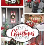 Festive Christmas Porch Ideas... so many inspiring Christmas porch decorating ideas!