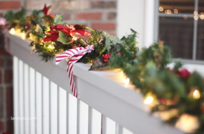 Christmas Porch Garland