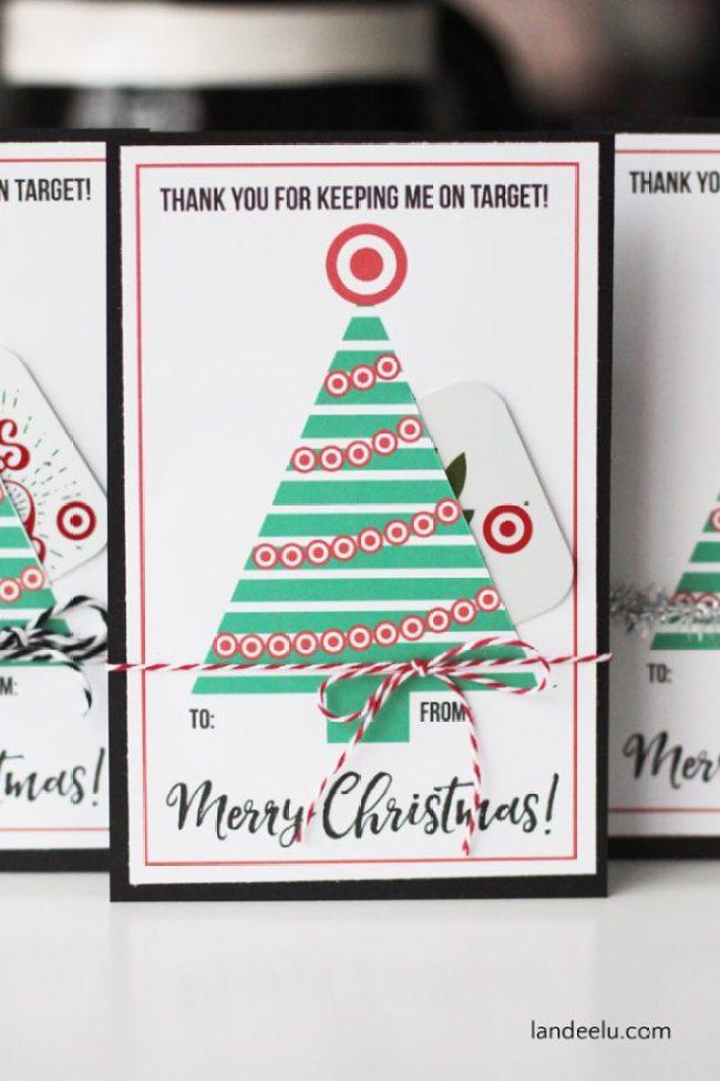 Christmas Teacher Gift Printable
