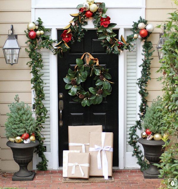 Magnolia wreath and garland style your senses