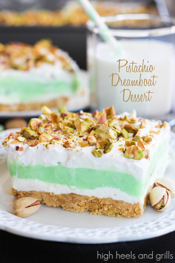 Pistachio+Dreamboat+Dessert+#nobake+#easy+#recipe+highheelsandgrills.com