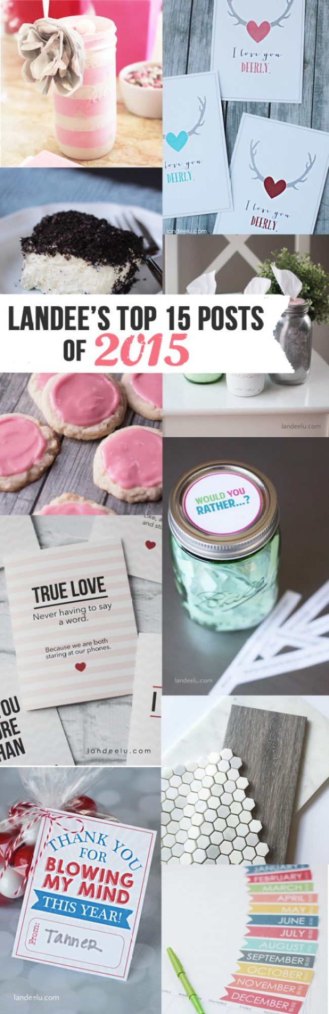Landee's TOP POSTS 2015