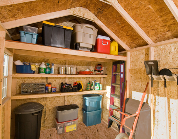 ideas-for-shed-organization Backyard Buildings and More