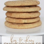 This is the snickerdoodle recipe you've been looking for! Try these and you'll be in snickerdoodle HEAVEN. #snickerdoodle #snickerdoodlecookies #cookierecipe #cookies #baking