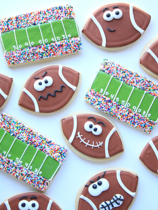 Football and field cookies 008 4