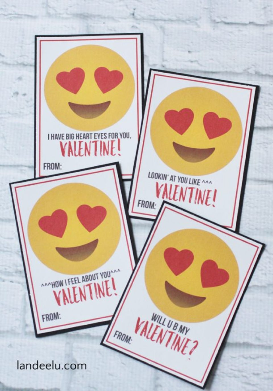 7 Free Printable Valentine S Day Cards For Kids Food Life Design