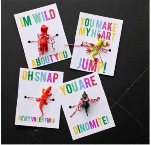 DIY Valentines - Tiny Animal Valentines Perfect for Boys Sweet Cs Designs
