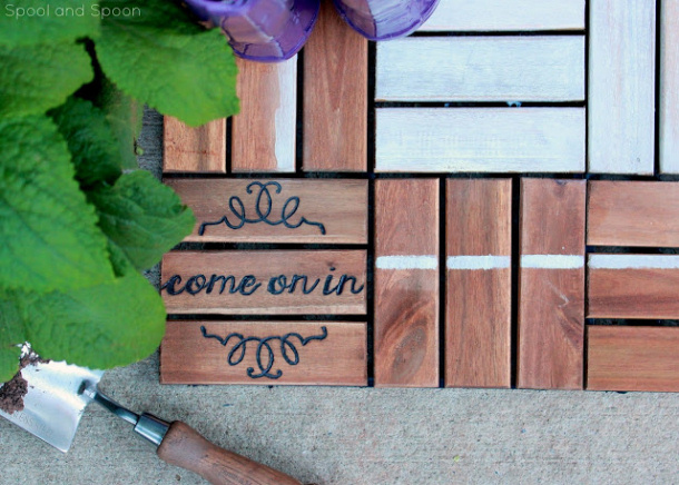 Diy Welcome Mats That Are Good For The Quot Sole Quot Landeelu Com