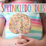 Sprinkledoodles {cookies on a stick}