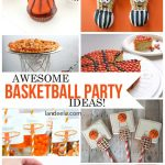 Awesome Basketball Party Ideas! Perfect for a birthday party or March Madness! | landeelu.com
