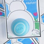 Printable Easter Cards with EOS Lip Balm... darling Easter bunny tail!!