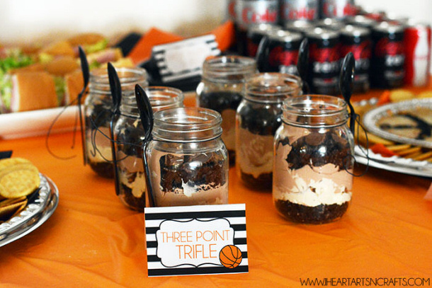 Free Printable Party Snack Label Cards via I heart arts and crafts