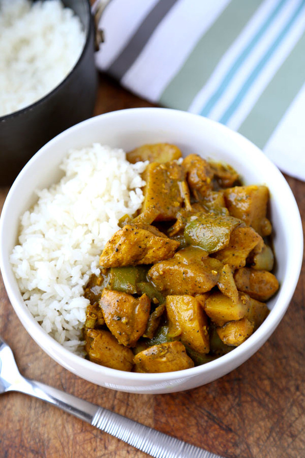 Chicken Curry Recipe - Jamaican Chicken Curry Recipe via Pickled Plum