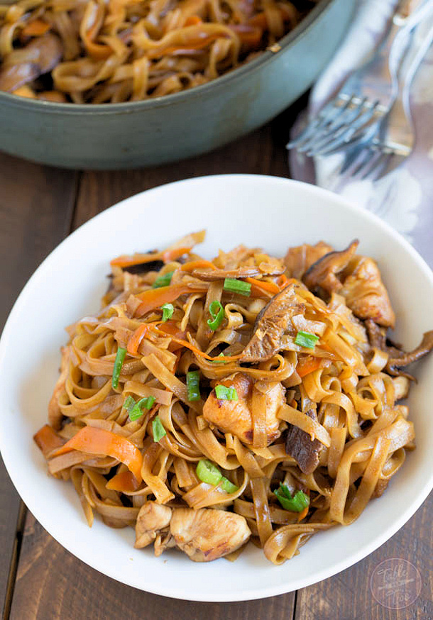 Chicken Curry Recipe - Thai Chicken Curry Noodles Recipe via Table for Two