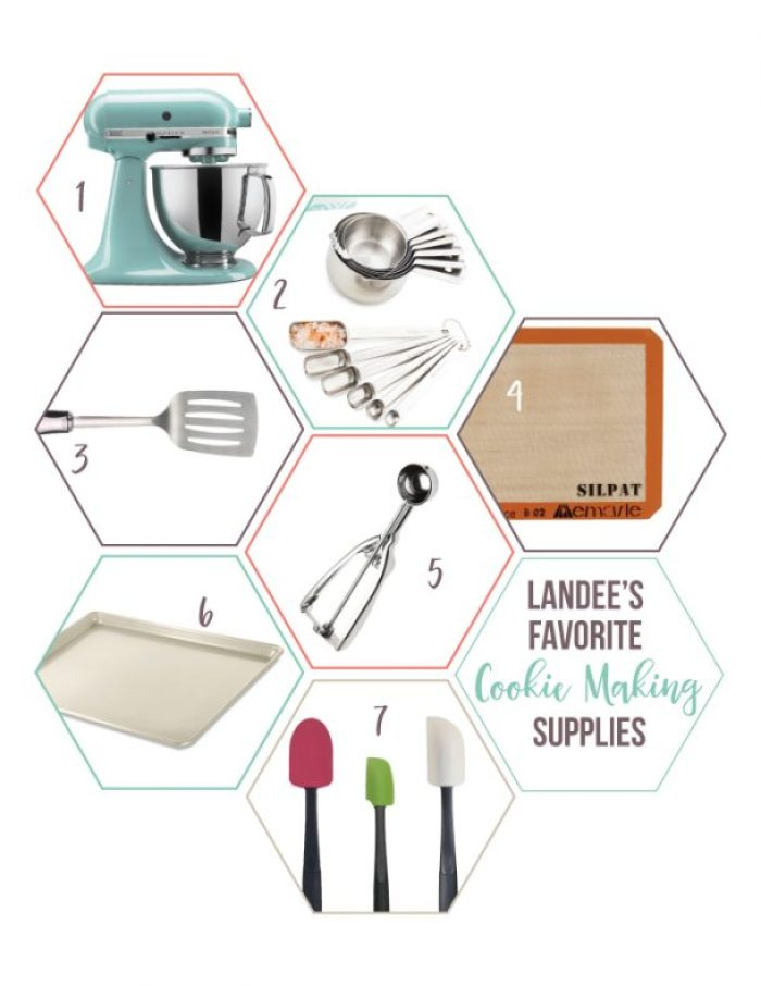 What are the essential kitchen tools you need to make cookies easily? Here is a great list!