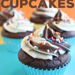 An easy way to make extra special chocolate cupcakes by using a cake mix and then adding a few more ingredients. Delish!
