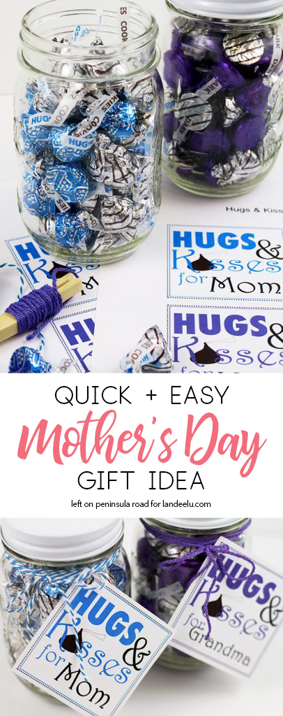 Such a cute and easy Mother's Day gift idea! I could make one of these for all the moms I know and love! #mothersday #giftidea #mothersadaygiftidea #mothersdaygift #diygift