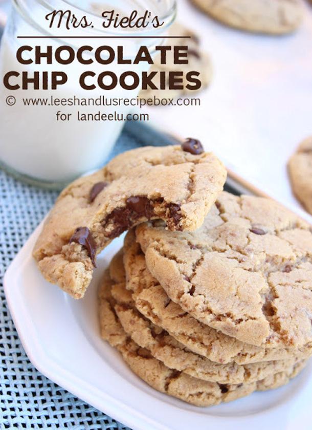Mrs Fields Chocolate Chip Cookies Recipe via Landeelu