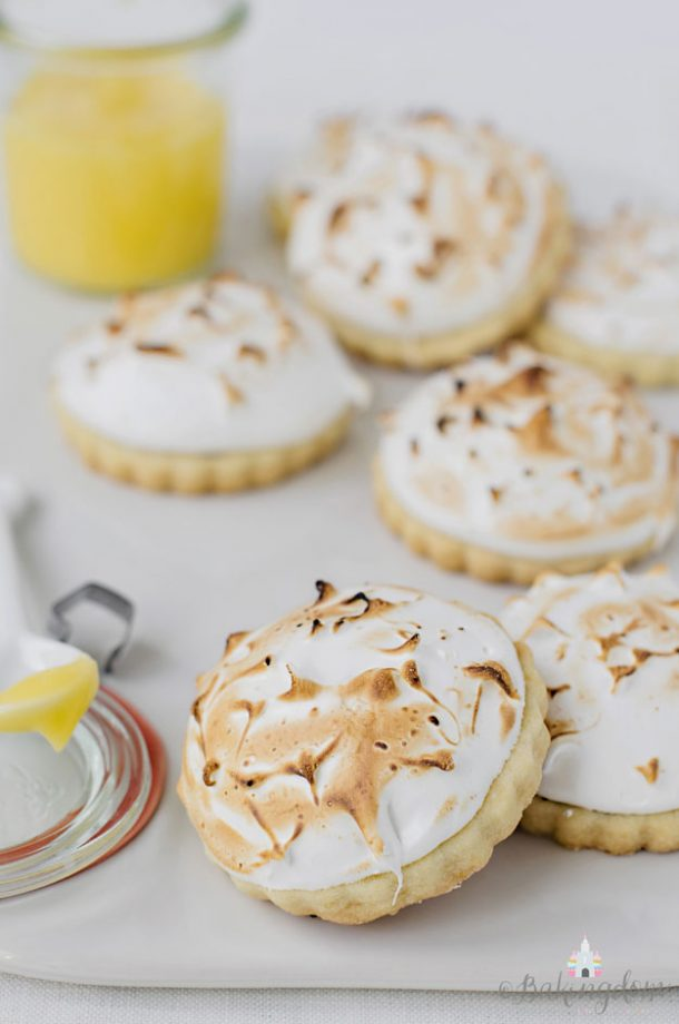 Shortbread Cookies - Lemon Meringue Pie Shortbread Cookies Recipe from Bakingdom