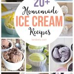 Homemade Ice Cream Dessert Recipes