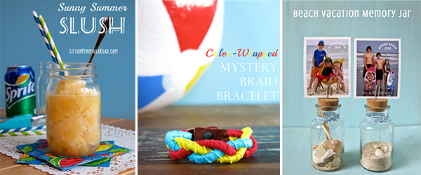 Summer Crafts Ideas from Left on Peninsula Road