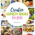 These lunch ideas are darling! I can't wait to try some of these for my kids! #lunchideas #kidlunches #creativelunches #lunch