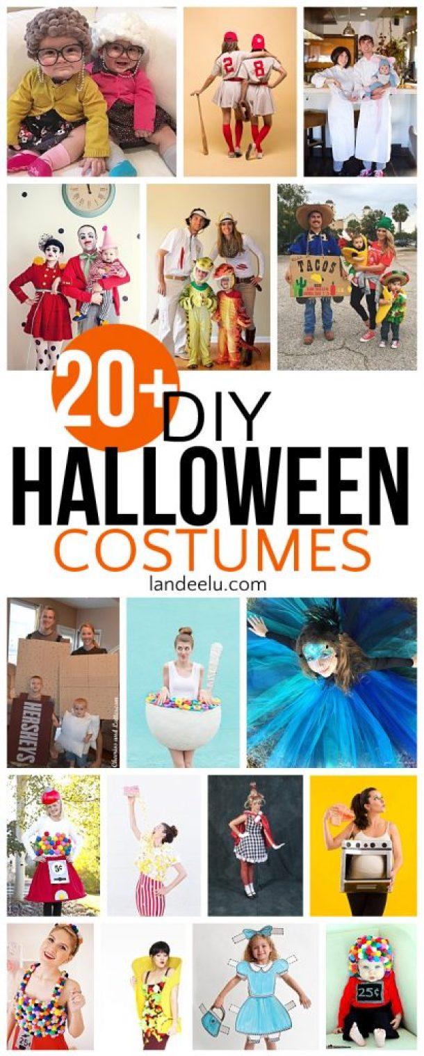 20 diy halloween costumes landeelu so many fun diy halloween costumes family halloween costume ideas too solutioingenieria Image collections