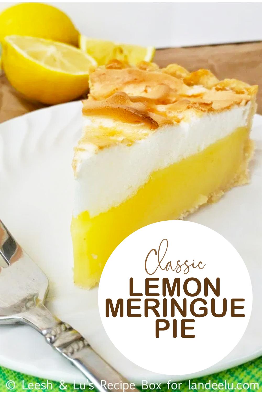 The perfect lemon meringue pie for any occasion! #pie #lemonmeringue #desserts