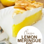 The perfect lemon meringue pie for any occasion! #pie #lemonmeringue #desserts