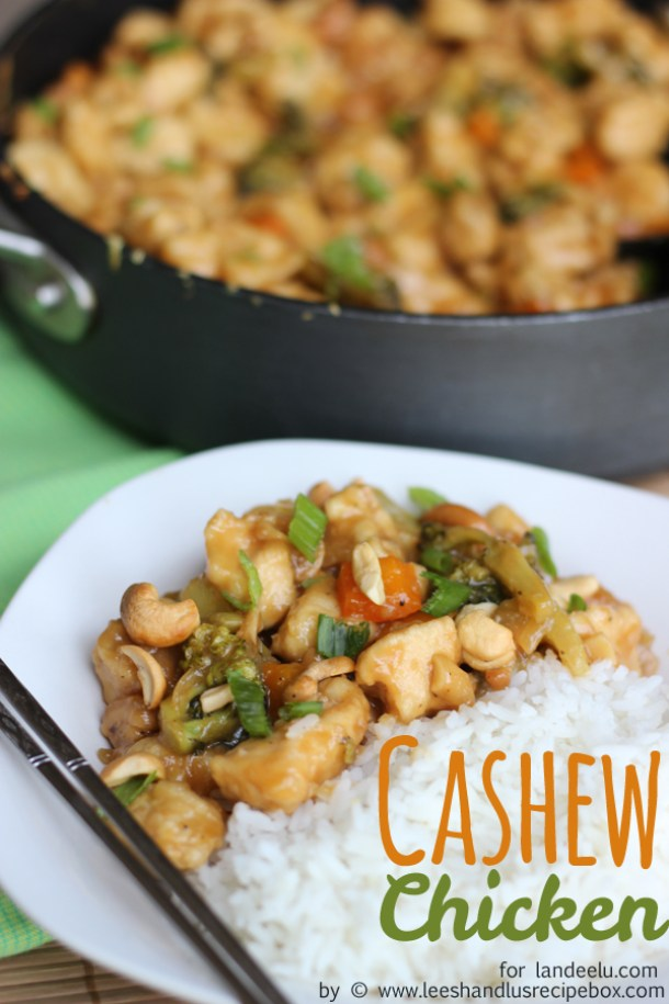Cashew Chicken Recipe | Landeelu